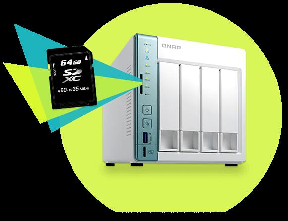 exFAT File System | Speed up large media file transfer | QNAP