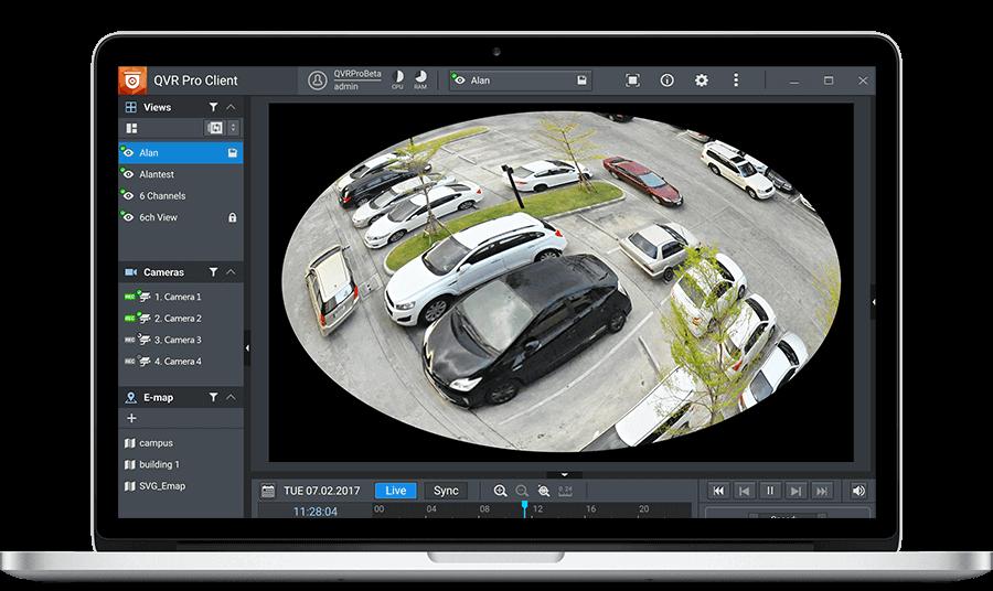 QVR Pro Surveillance | IP video surveillance system on NAS | QNAP