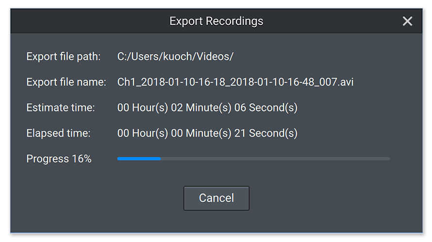 Faster Export