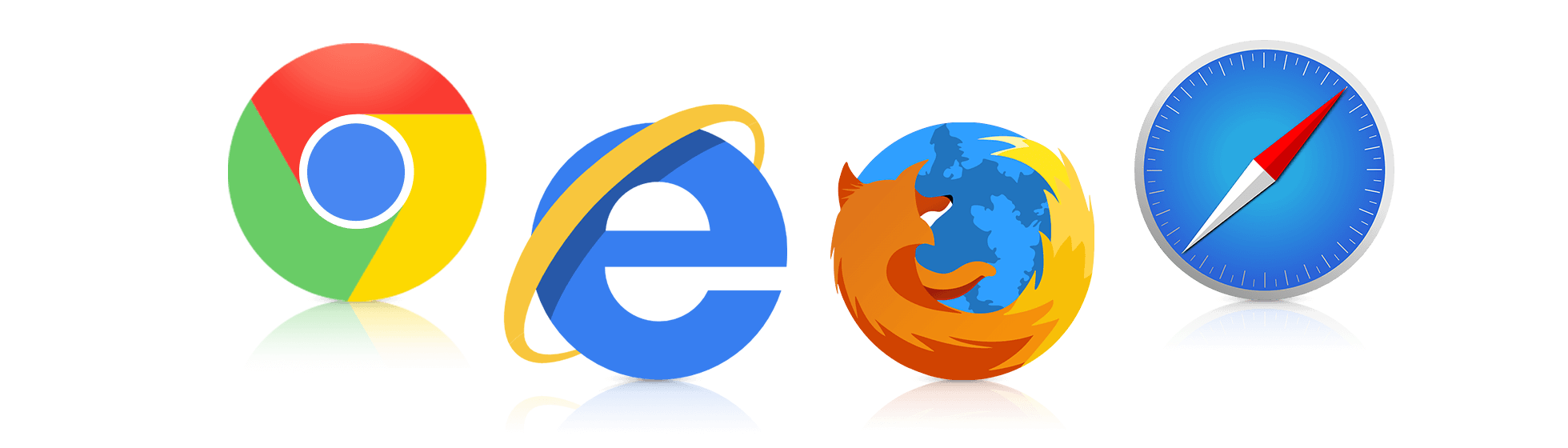 Support mainstream web browsers