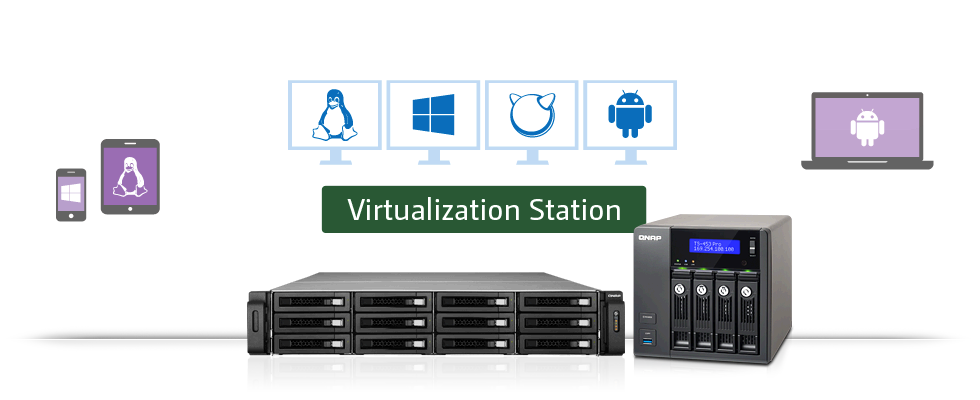 - Virtualization Station