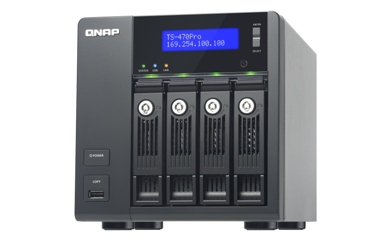 QNAP TS-470Pro Turbo NAS QTS Drivers Windows XP