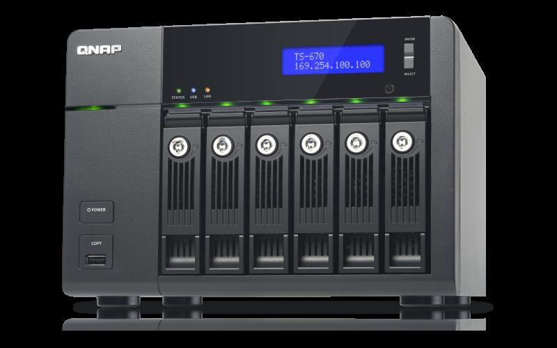 QNAP TS-670 TurboNAS Drivers for PC
