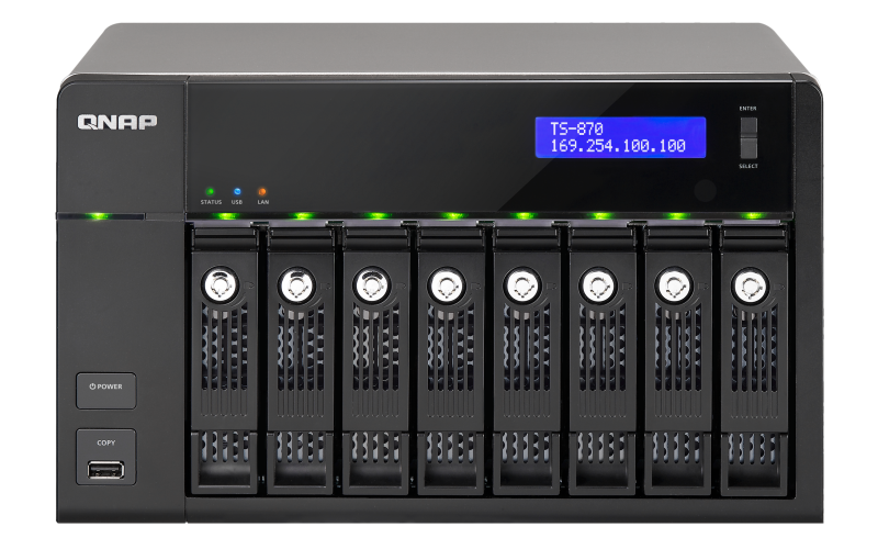 QNAP TS-870 Pro Turbo NAS QTS Drivers for Windows