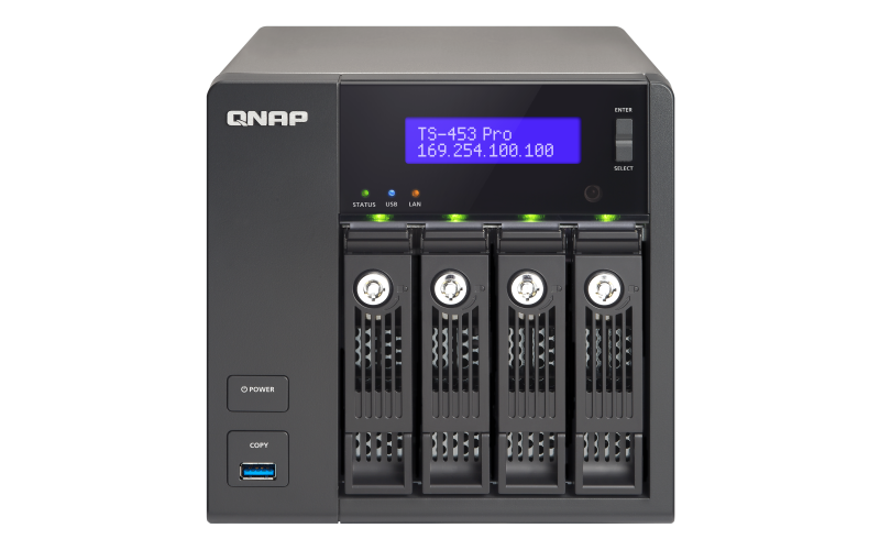 QNAP TS-453SPro TurboNAS QTS Drivers Windows