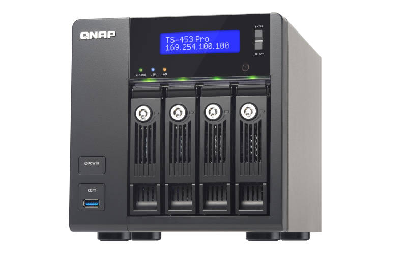 Drivers Update: QNAP TS-453 TurboNAS QTS