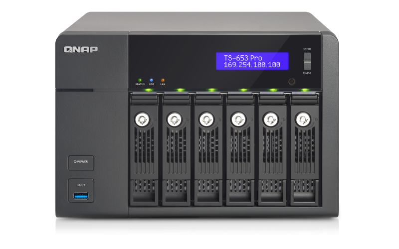 TS-653 Pro - Package Content - QNAP (US)