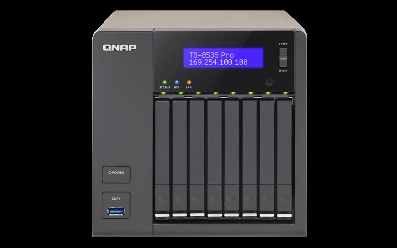 QNAP TS-853SPRO TURBONAS QTS DRIVER DOWNLOAD (2019)