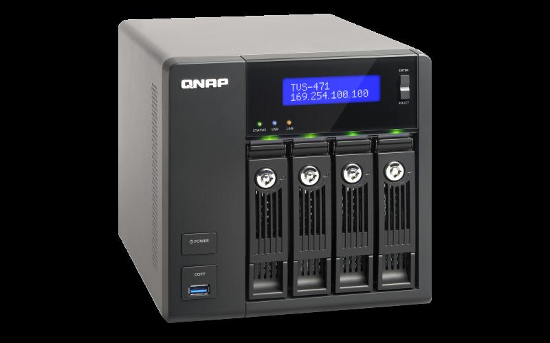 Drivers Update: QNAP TVS-471 TurboNAS QTS