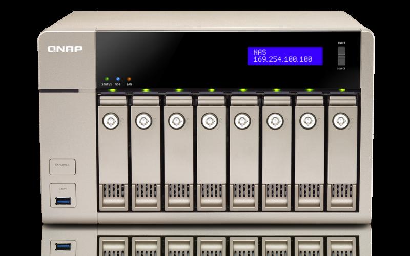 QNAP TVS-863 TurboNAS QTS Drivers Mac