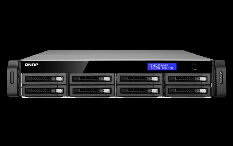 QNAP TS-EC879U TurboNAS Driver for Windows 10