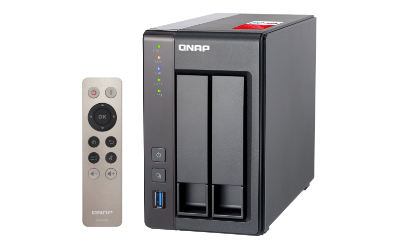 QNAP TS-251+ TurboNAS QTS Download Drivers