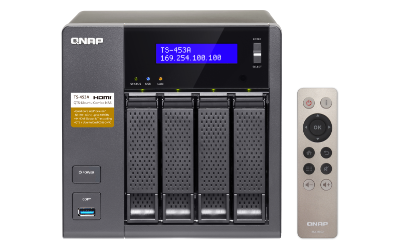 TS-453A - Features - QNAP