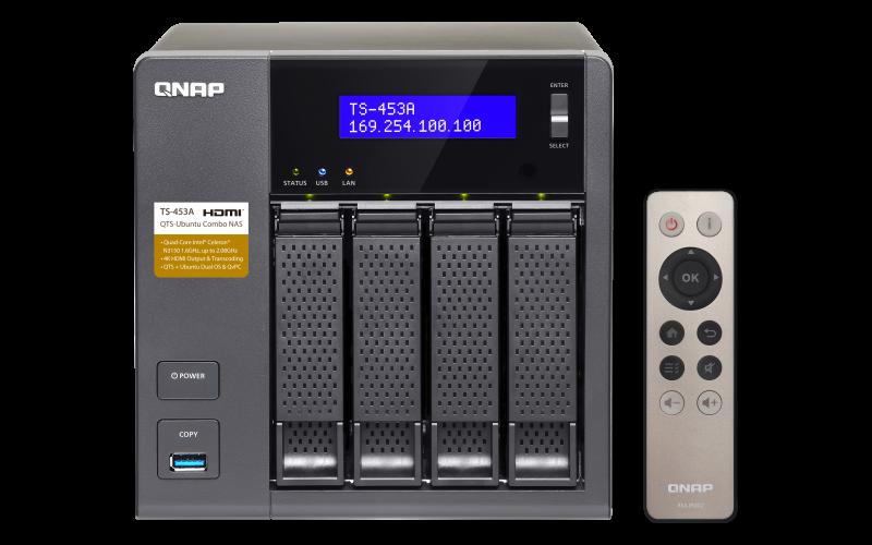 TS-453A - Hardware Specs | QNAP