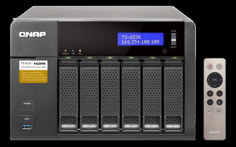 QNAP TS-653 TurboNAS QTS Drivers Update