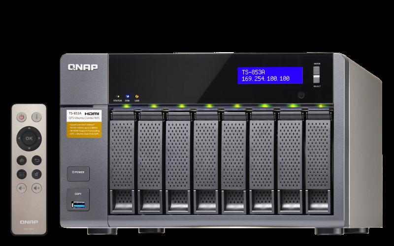 QNAP TS-853Pro TurboNAS QTS Windows Vista 32-BIT