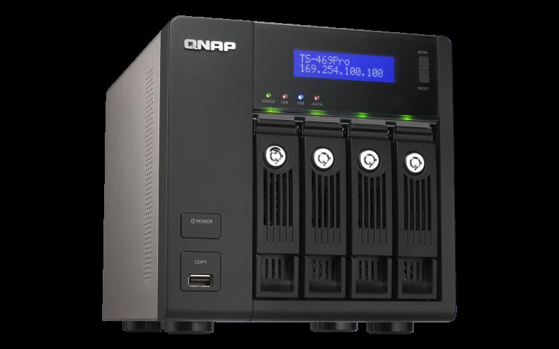 QNAP TS-469Pro TurboNAS QTS Drivers Windows