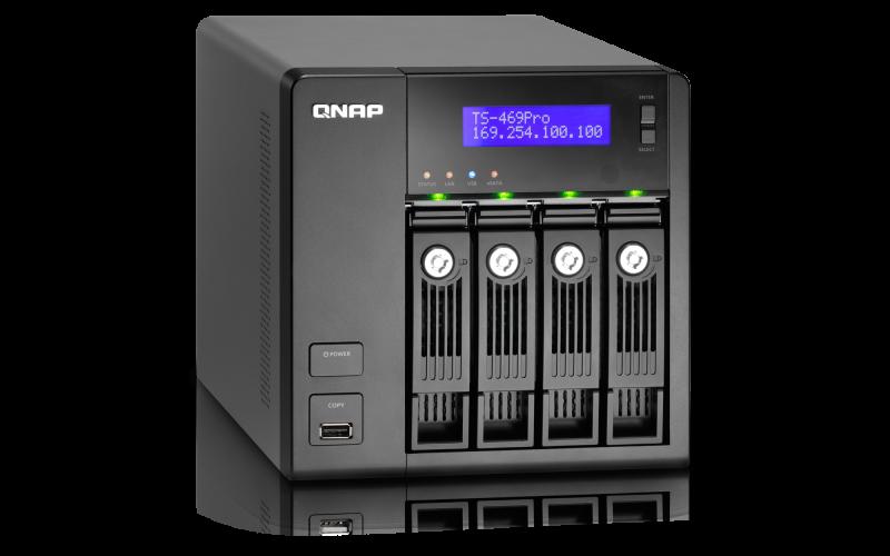QNAP TS-459ProII TurboNAS QTS Drivers for Windows Download