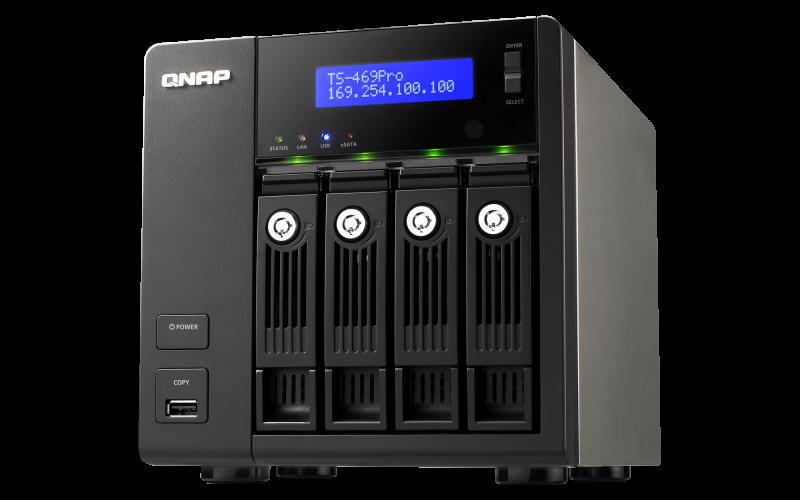 QNAP TS-469Pro TurboNAS QTS Driver Download