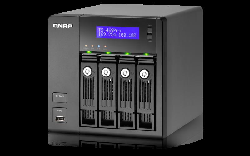 QNAP TS-469Pro Turbo NAS QTS Mac