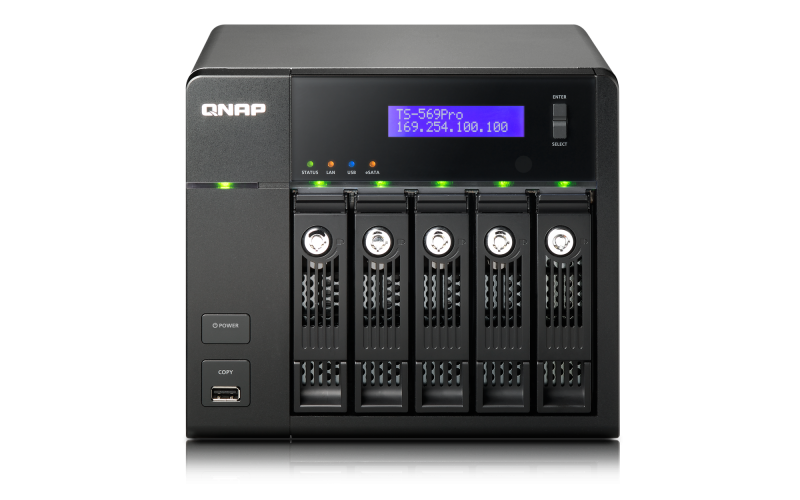 QNAP TS-569 Pro Turbo NAS QTS Drivers for Mac Download