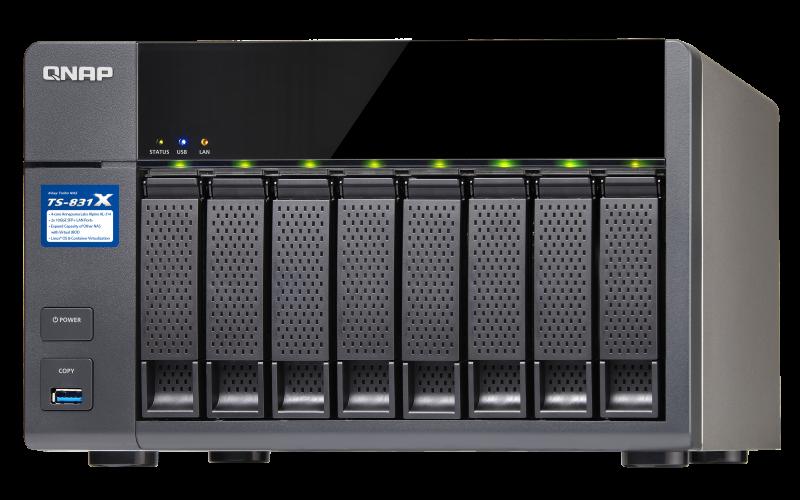 TS-831X - Features - QNAP