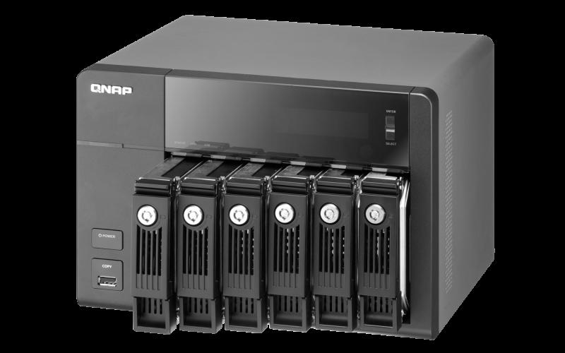 QNAP TS-669Pro Turbo NAS Treiber Windows XP
