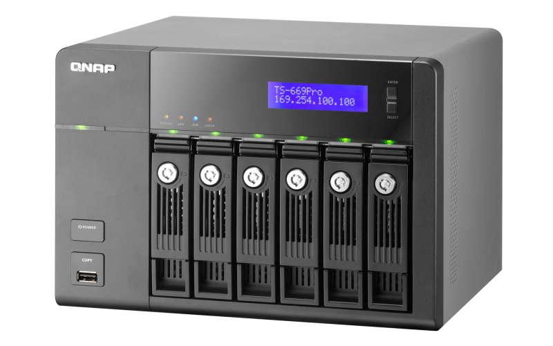 QNAP TS-669Pro Turbo NAS Drivers for Windows