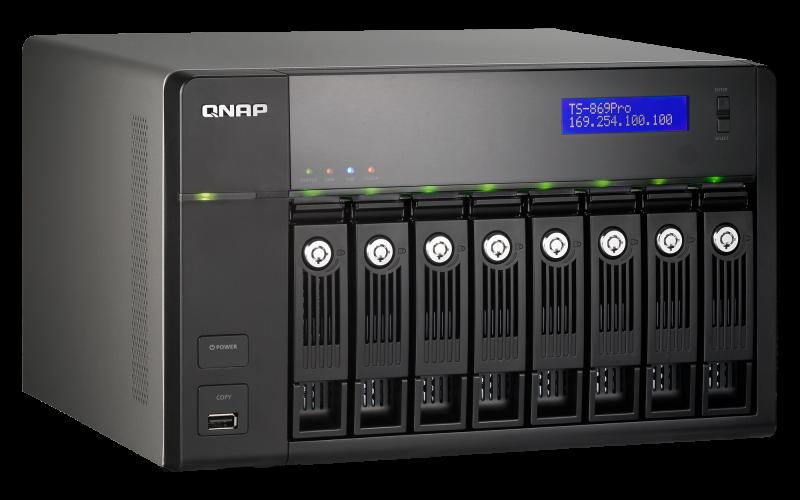 QNAP TS-859 Pro Turbo NAS QTS Windows 8 X64 Treiber