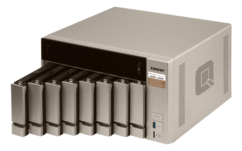 TVS-873 - Features - QNAP