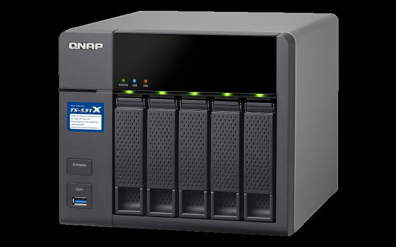 TS-531X - Features - QNAP