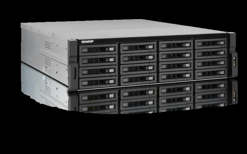 QNAP TS-1679U-RP TurboNAS QTS Mac