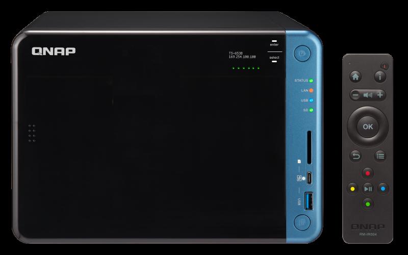 TS-653B - Package Content - QNAP