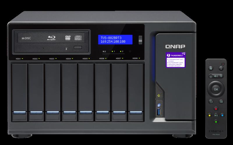 TVS-882BRT3 - Features - QNAP