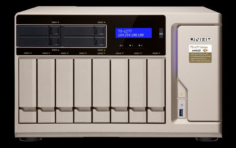 QNAP TS-870 TurboNAS QTS Drivers Windows