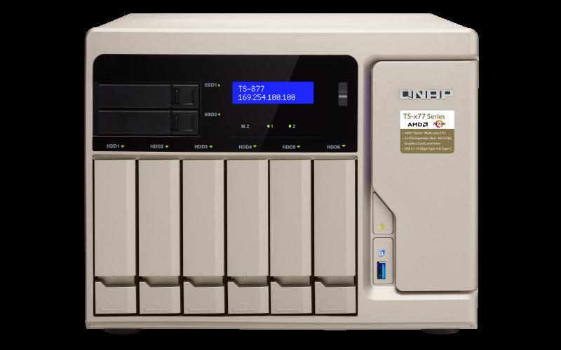 TS-877 - Features | QNAP