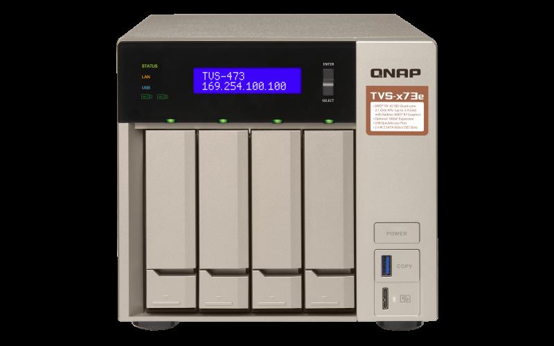 QNAP NAS TVS-473e