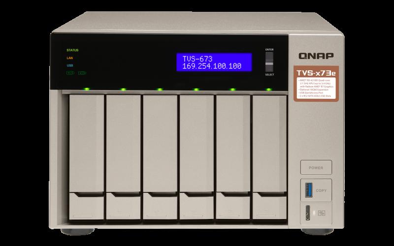 QNAP NAS TVS-673e