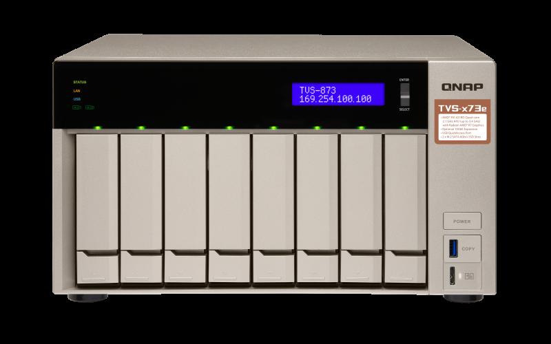 QNAP NAS TVS-873e