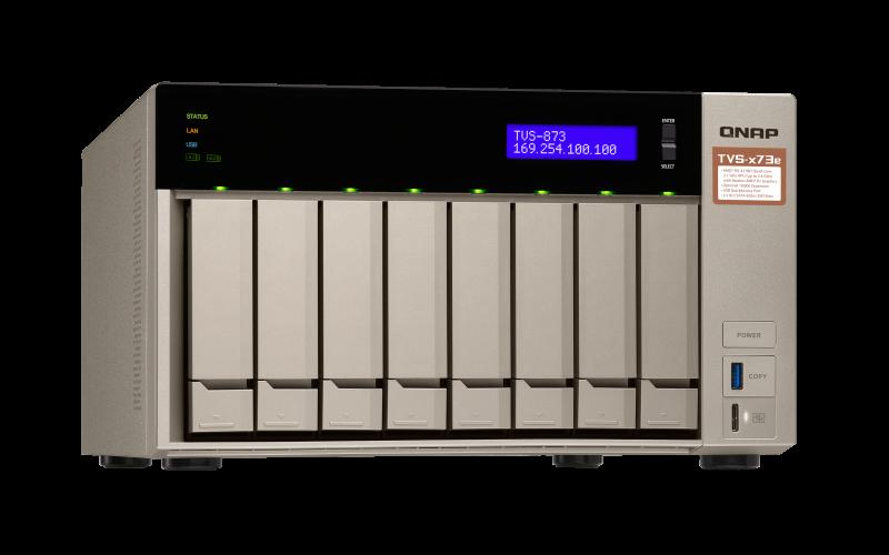 TVS-873e - Features | QNAP