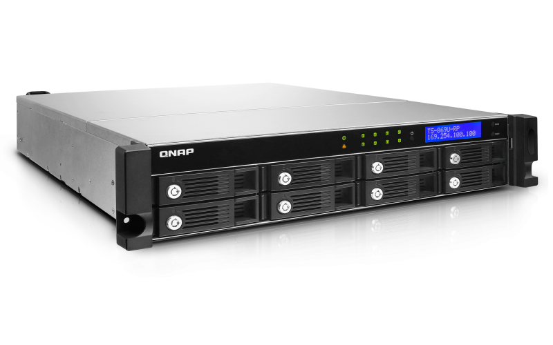 QNAP TS-809U Turbo NAS QTS Windows Vista 32-BIT