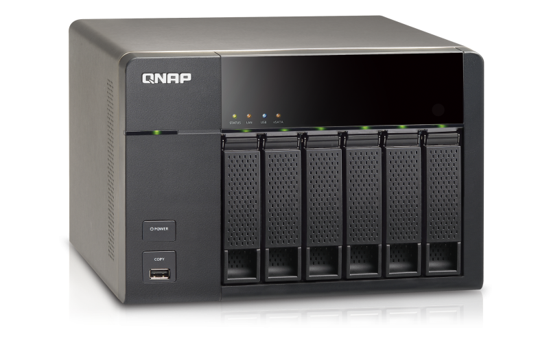 QNAP TS-669L Turbo NAS QTS Drivers for Windows Mac