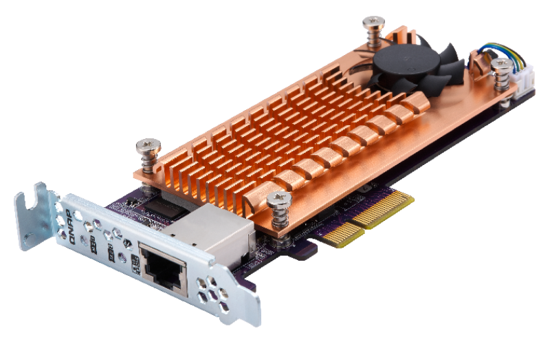 QM2 Expansion Card (Add M 2 SSD Slots and 10GbE Connectivity