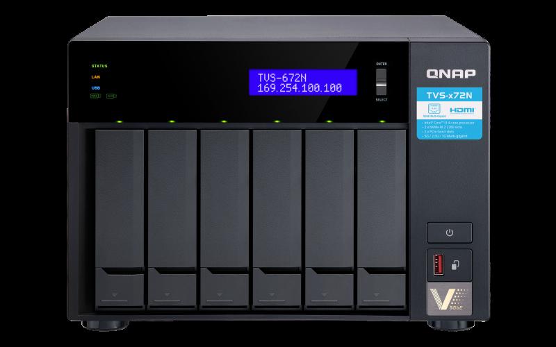 QNAP NAS TVS-672N