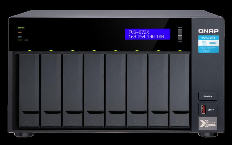 TVS-872X-i3-8G-US
