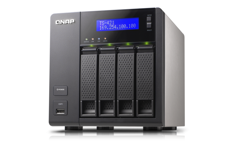 QNAP TS-421U TurboNAS QTS Driver Windows XP