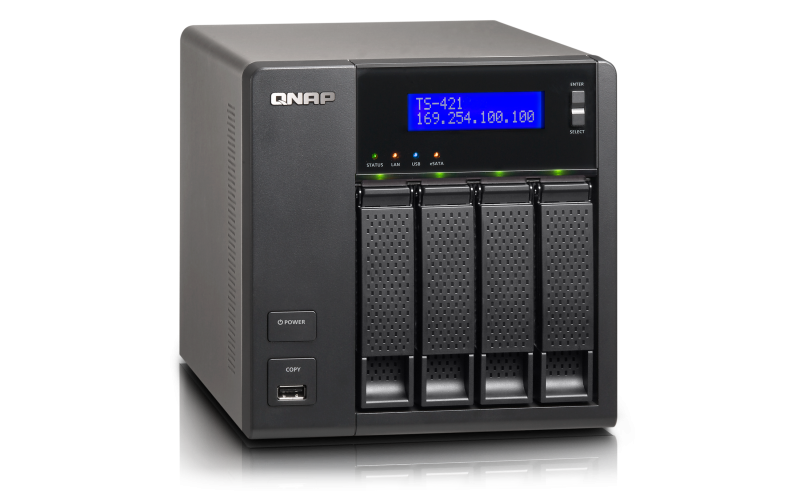 QNAP TS-421 TURBO NAS QTS DRIVERS (2019)