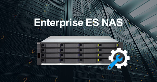 Getting Started with QNAP ES Series
