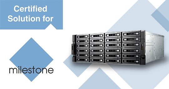 Milestone IP surveillance platform