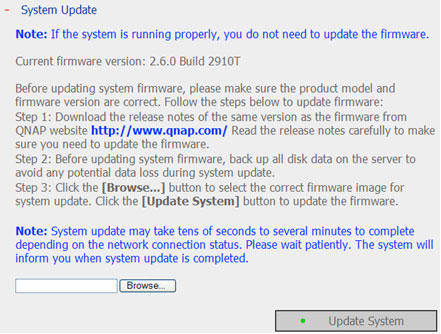 Update System